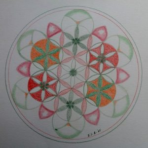 Flower of Life door Inge