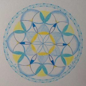 De Flower of Life door Inge
