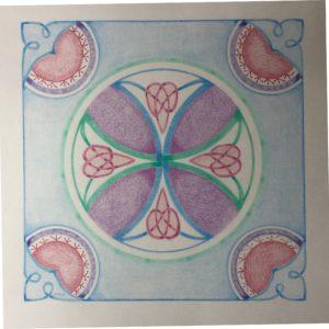 Het Keltisch Kruis door Inge