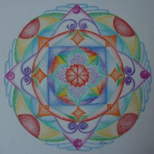 de stap voor stap Mandala