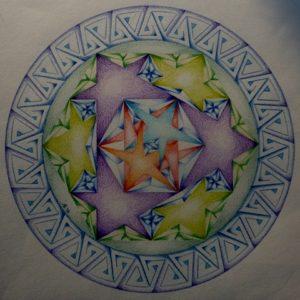 Sterren in de Mandala