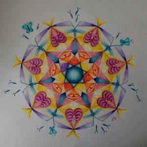 Engelen in de Mandala