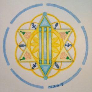 Het Atlantissymbool door Carin