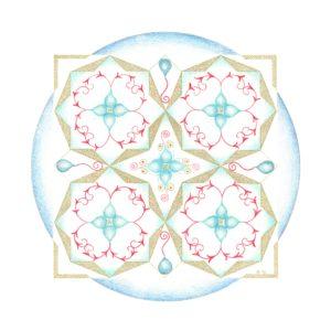 Islamitische Geometrie in de Mandala