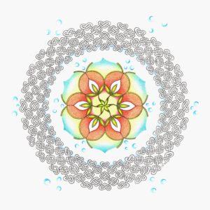 Keltisch Vlechtwerk in de Mandala