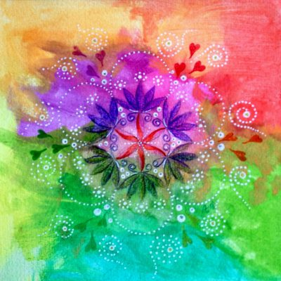 De Flower of Life....mijn favoriete symbool