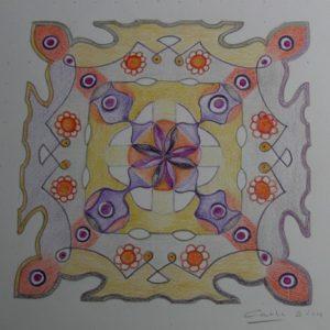 Kolam (2) door Carli