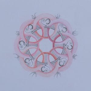 de cirkel in de Mandala