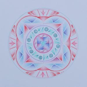 Stap voor stap Mandala