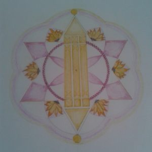 Het Atlantissymbool door Petra