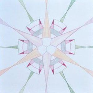 Molecuulmandala door Margriet