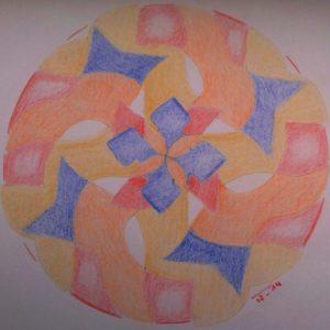 Werken met sjablonen door Inge