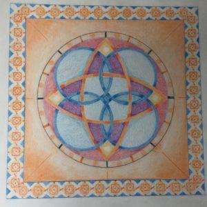 Keltisch Vlechtwerk en trappatronen in de Mandala