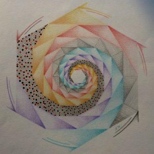 de Spiraal in de Mandala