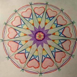 Prachtige Mandala: De 13 in de Mandala door Caly
