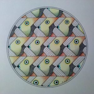 Escher in de Mandala