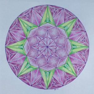 kristalmandala door Ciel