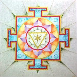 de Yantra: een gevisualiseerde Mantra